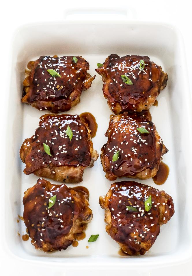 Baked Teriyaki Chicken Recipe | chefsavvy.com