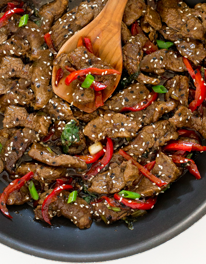 Beef with Thai Basil | chefsavvy.com