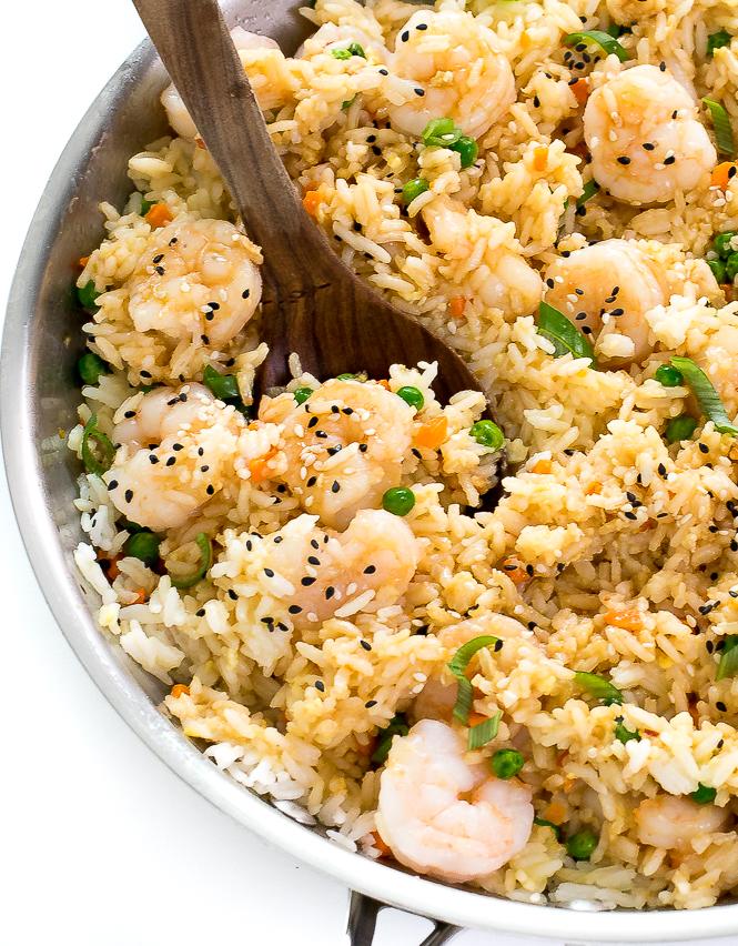 The BEST Shrimp Fried Rice Recipe | chefsavvy.com