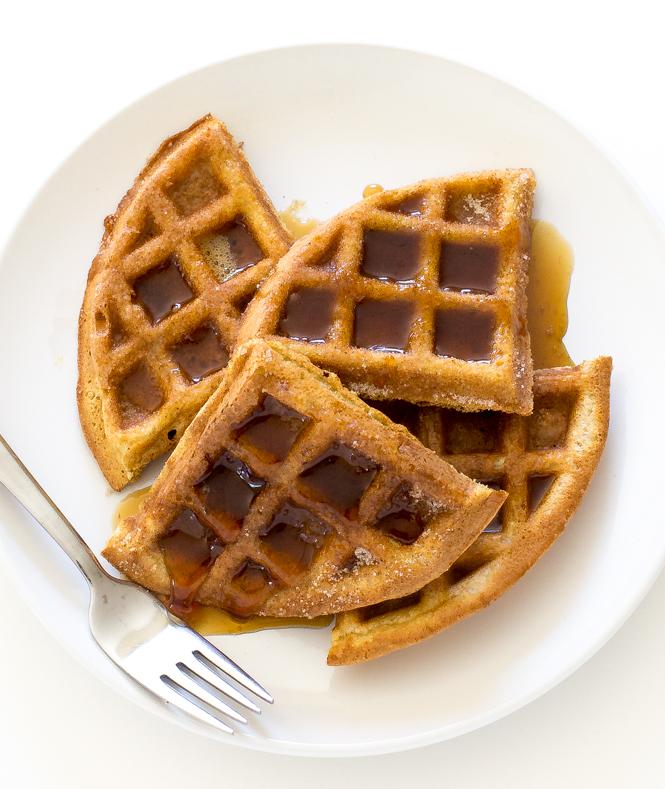 Best Churro Waffles | chefsavvy.com