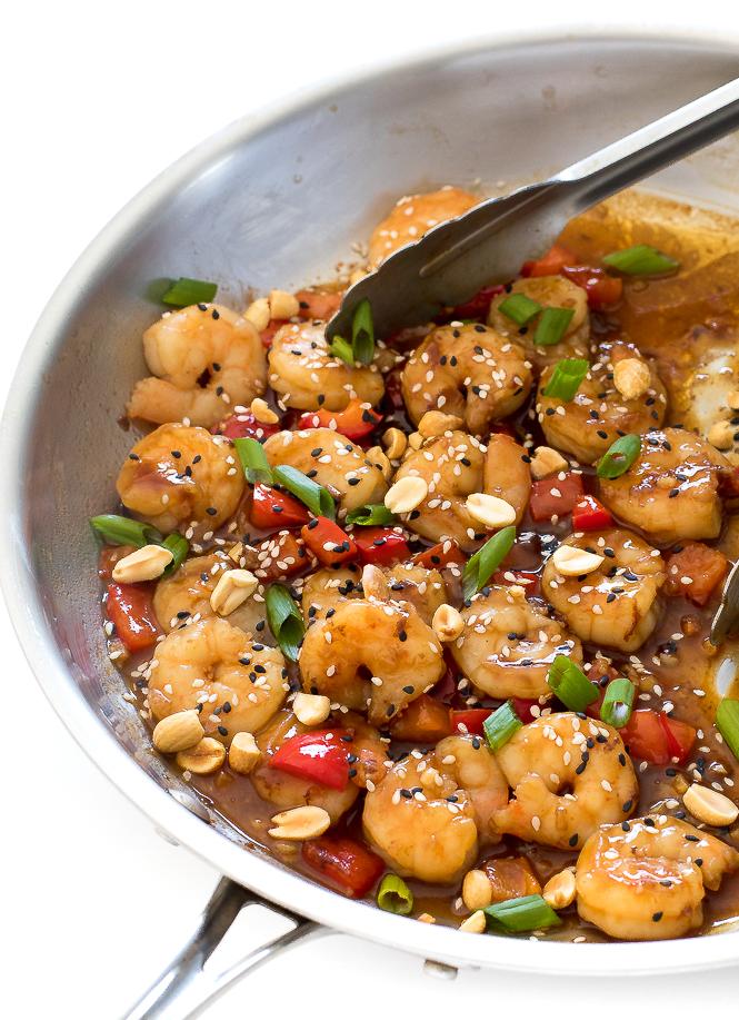 Kung Pao Shrimp | chefsavvy.com