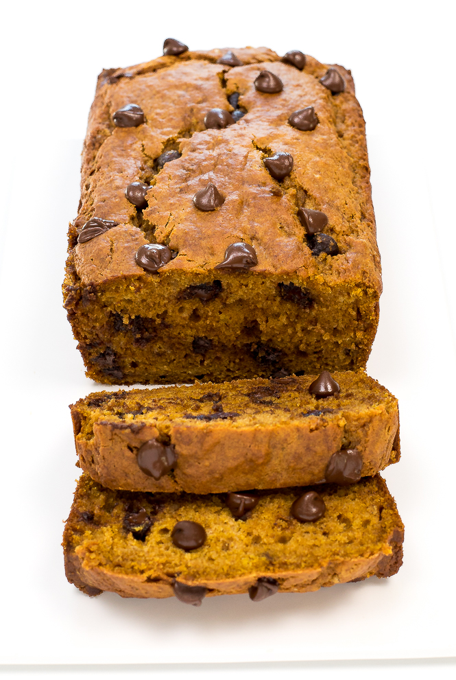 Chocolate Chip Pumpkin Bread | chefsavvy.com