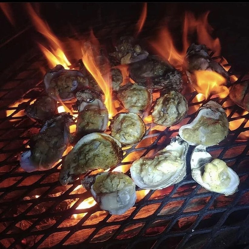 Bourrée Char Grilled Oysters