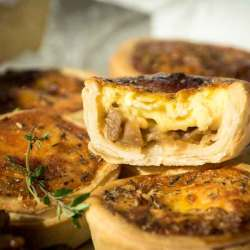 Onion & Camembert Tart