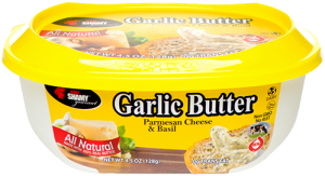 Chef Shamy serves up delicious garlic butters that pair perfectly with any meal.
