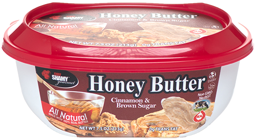 Perfect for pastries, try cinnamon brown sugar honey butter with breakfast.