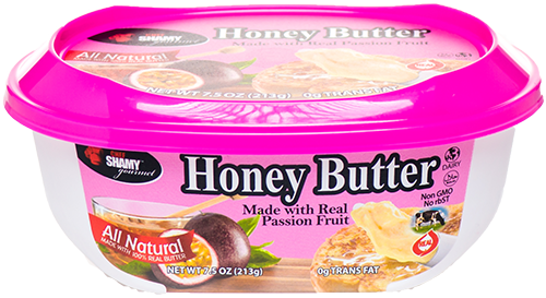 Honey Butter with Passion Fruit brings sweet and sour to all types of recipes.