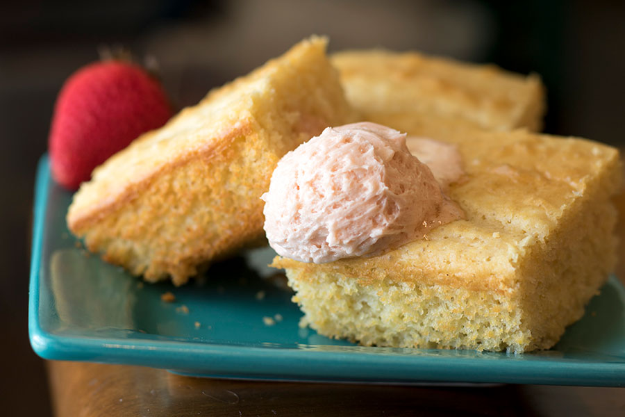 Strawberry Cornbread Recipe