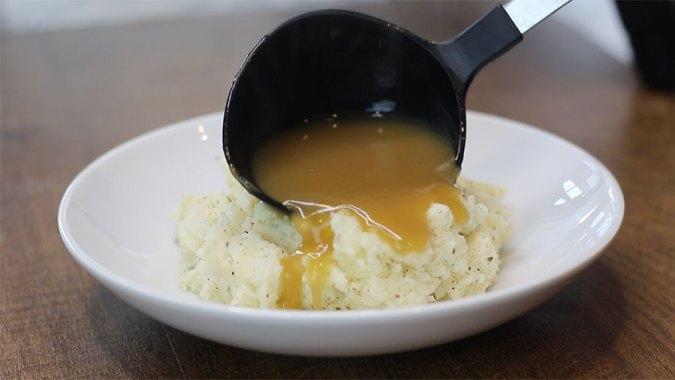 Cream Cheese Garlic Mashed Potatoes