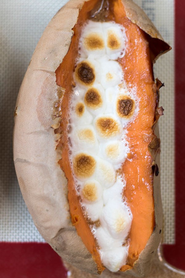 Easy Loaded Sweet Potato