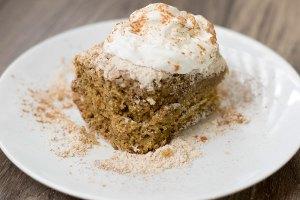 Cinnamon Streusel Pumpkin Cake