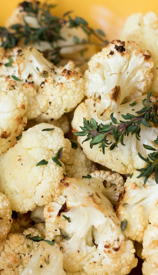 French Onion Roasted Cauliflower