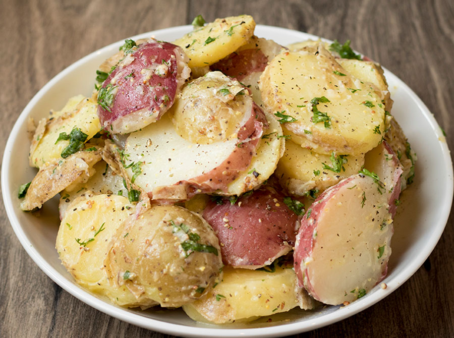French Onion Potato Salad