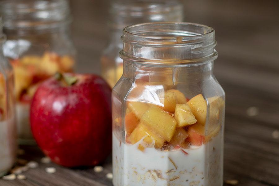 Apple PieOvernight Oats