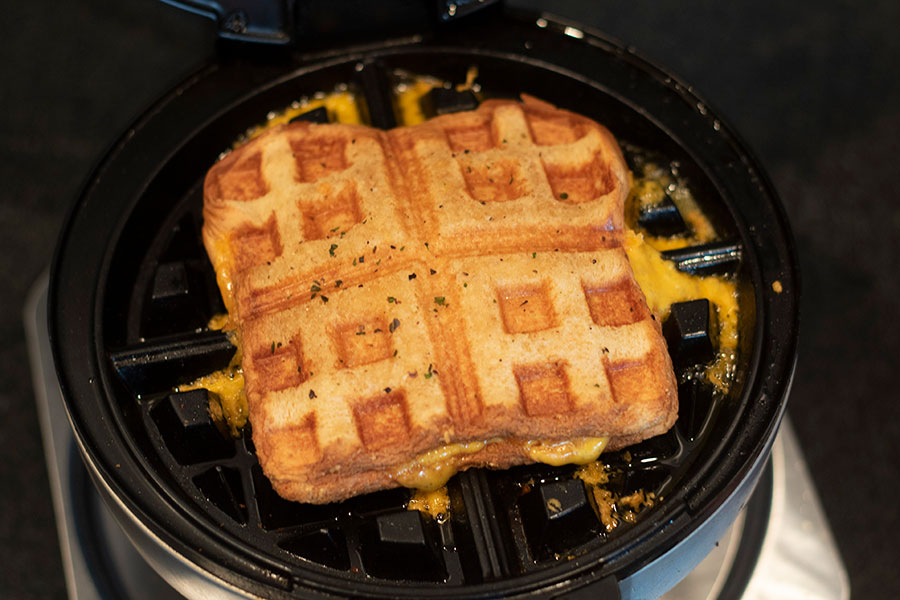 Waffle Grilled Cheese