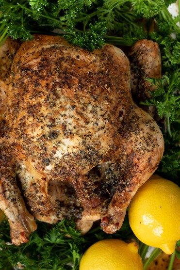 Garlic and Herb Roasted Chicken