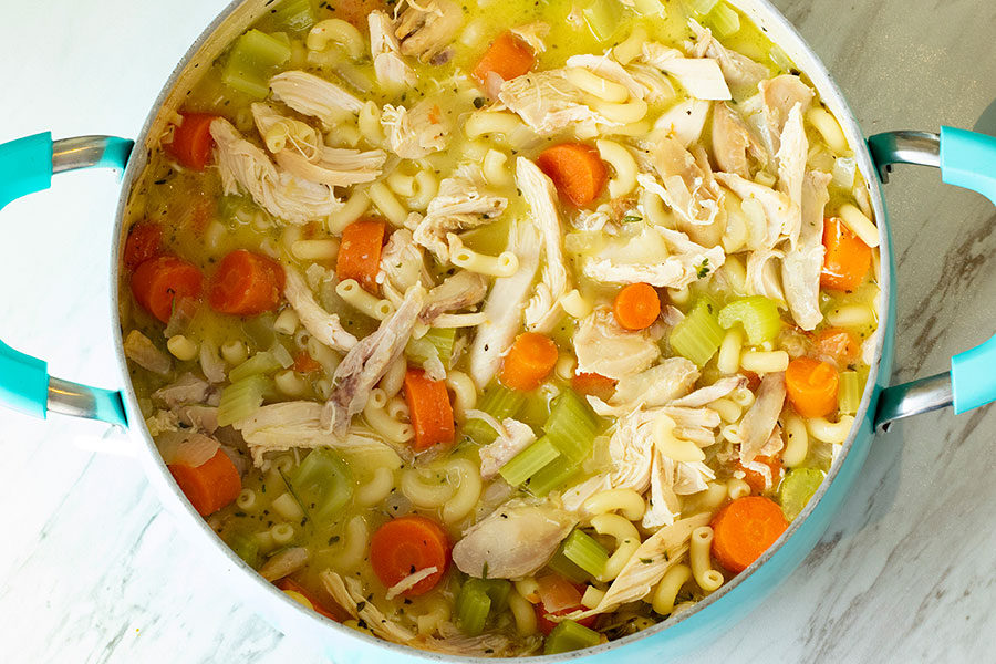 Feel Better Chicken Soup