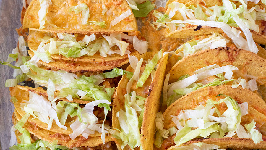 Baked Chicken Tacos