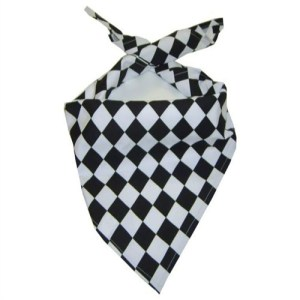 Black and White Neckerchief