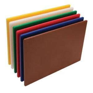 Hygiplas Standard Low Density Chopping Board Set