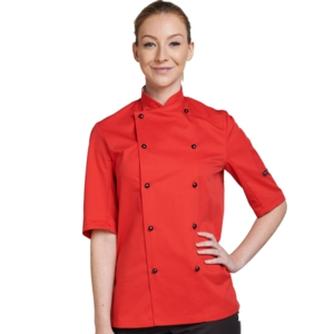 Short Sleeve Technicolour Chefs Jackets (various colours)