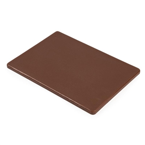 Low Density Chopping Board. Brown for vegetables