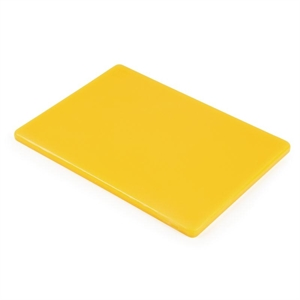 Low Density Chopping Board. Yellow for cooked meat
