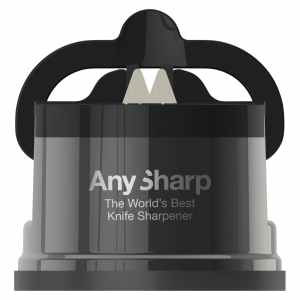 AnySharp Pro Brass Knife Sharpener