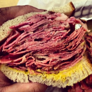 Quite possibly my favorite smoked meat sandwich of all time. Estrella's in Langley is outstanding.