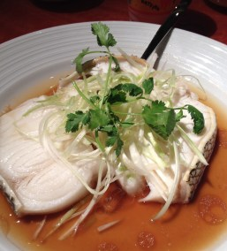 After a week of Vegas fare, this steamed Chilean sea bass knocked it out of the park