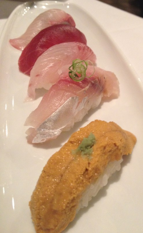 I eat a fair amount of sushi, but the madai that night at Zest Japanese Cuisine, was exceptional