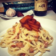 Rustichella d'Abruzzo Primograno spaghettoni + mullet bottarga = the perfect lunch