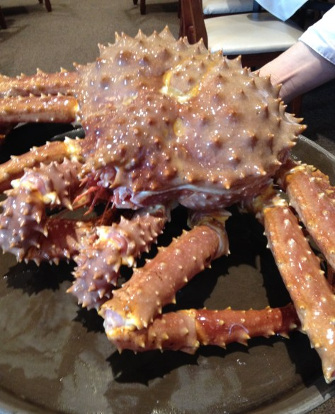 """Every year, I crave at least one massive live Alaskan king crab feast. This year's feast was extra special because my """"Parental Units"""" flew in from Toronto for this meal."""