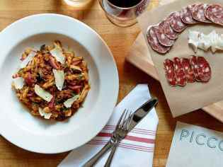 Virtual Wine Dinner for Two: Piccolo's Central Italian favorites with Chef Damian Sansonetti (delivery included)