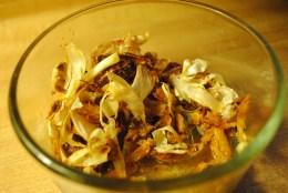 fried garlic & cardamom