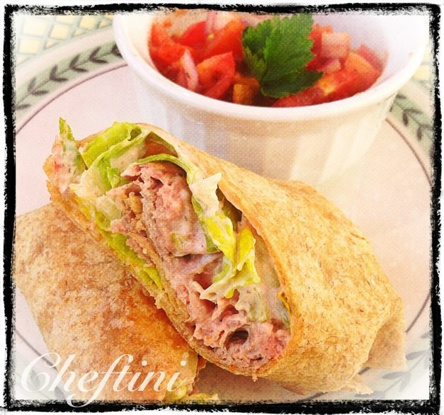 Mexican Roast Beef Wrap