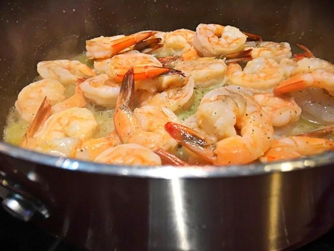 Panko Pan Seared Shrimp