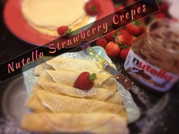 Palacinka: Croatian Crepes with Nutella and Strawberries