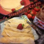 Nutella Crepes Label Photo