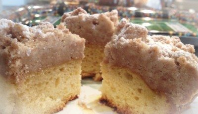 Dreamy Crumb Cake