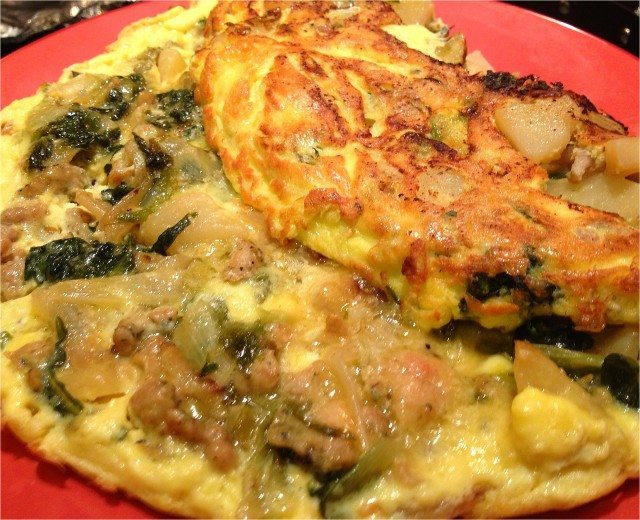 how to make a frittata with potatoes