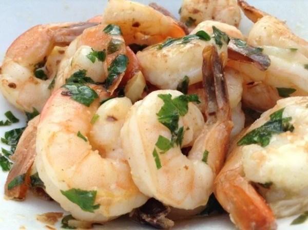Skillet Shrimp Arrabbiata