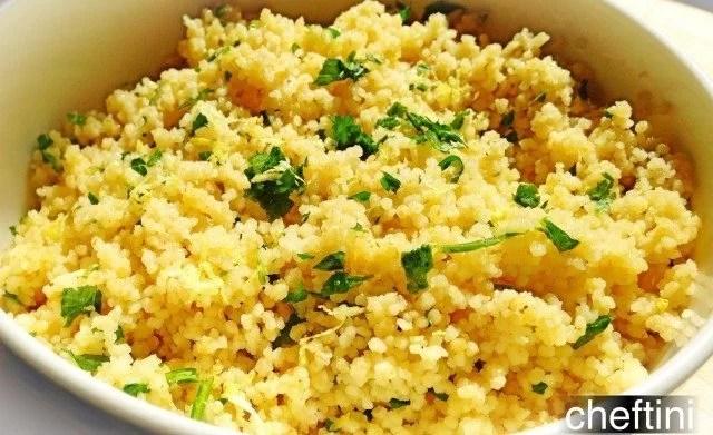 Simple Whole wheat couscous