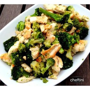 Chicken and Broccoli Saute