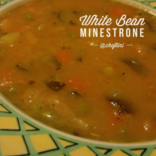 Put a little spring in your step with this White Bean Minestrone