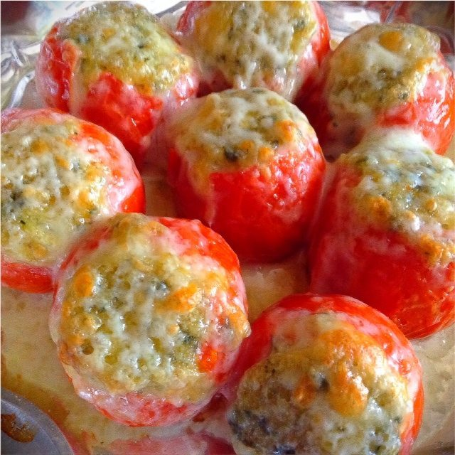 Stuffed Campari Tomatoes