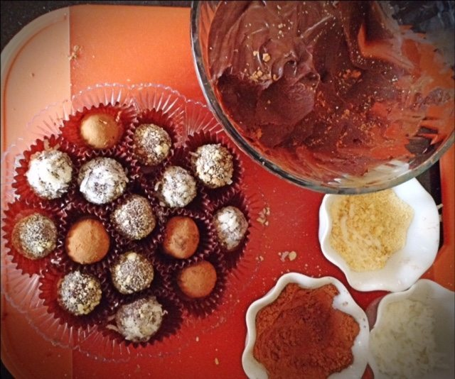 Homemade Chocolate Truffles 3
