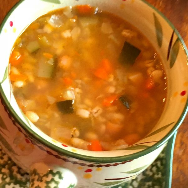 Minestrone and Barley Soup