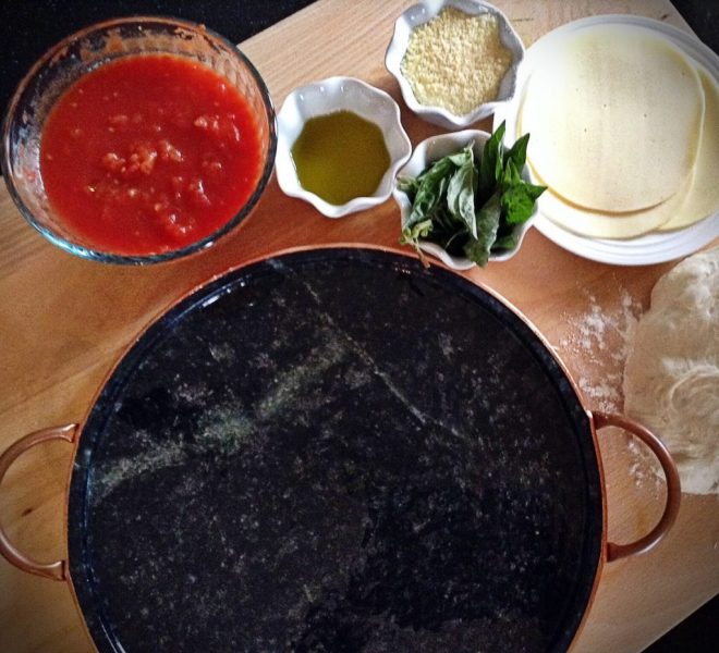 UncommonGoods Soaptstone Pizza Pan