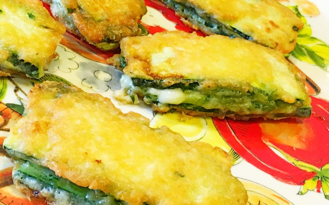 Zucchini in Carozza Grilled Cheese